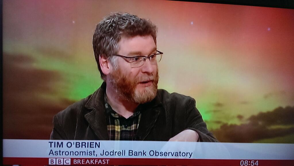 Discussing the aurora on BBC Breakfast with my new job title ;)