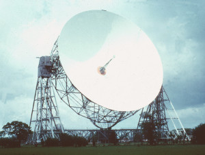 Mark I Telescope at Jodrell Bank